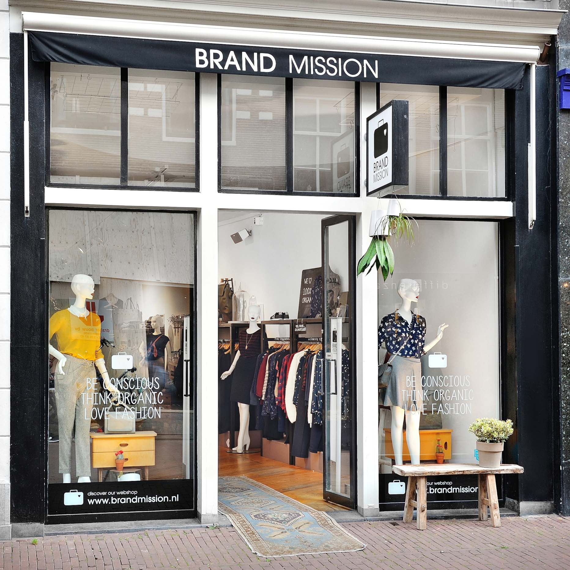 BrandMission duurzame mode Haarlem