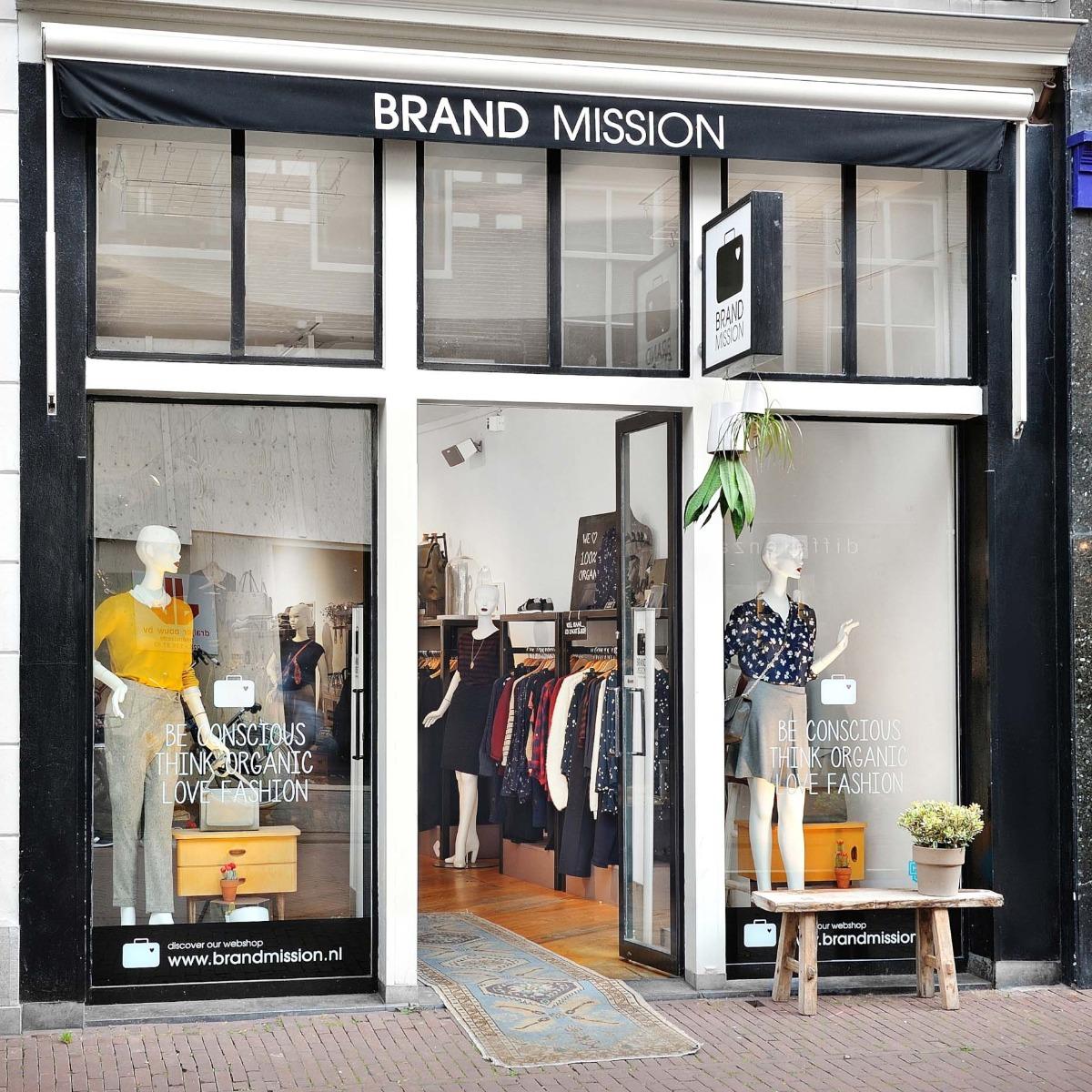 BrandMission duurzame mode Amsterdam