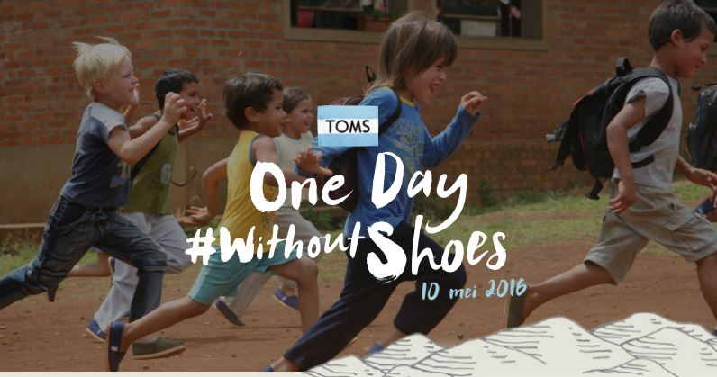 #withoutshoes TOMS